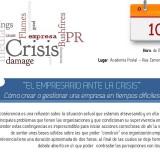 Cartel el empresario ante la crisis
